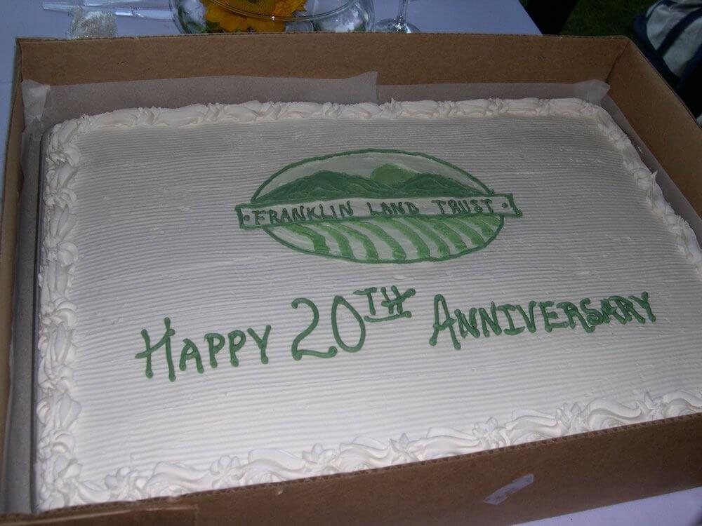 FLT's 20th Anniversary cake
