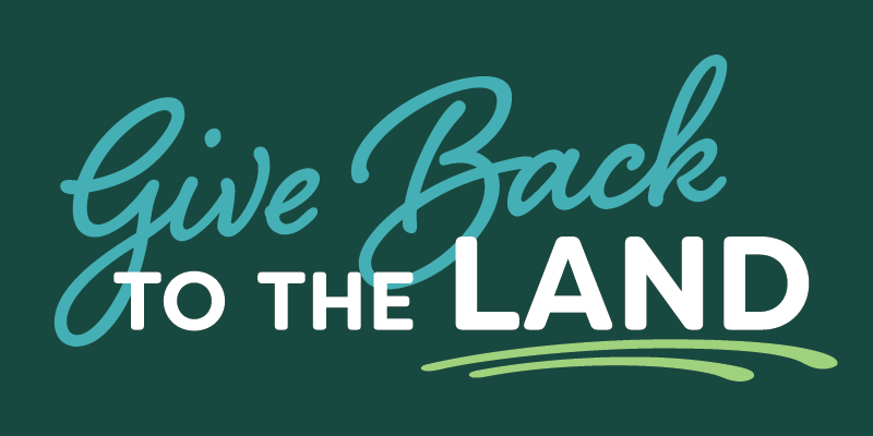 Give Back to the Land logo