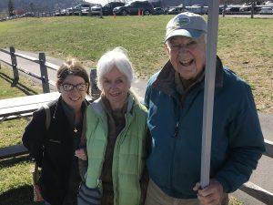 Tony Borton with family